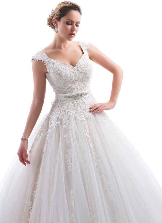 Tulle Wedding Dress From Venus Bridals