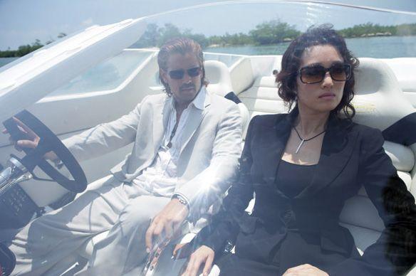 Colin Farrell Sonny Crockett Colin Farrell And Isabella Gong Li In Universal Pictures Miami Vice Photo Miami Vice Don Johnson Michael Mann