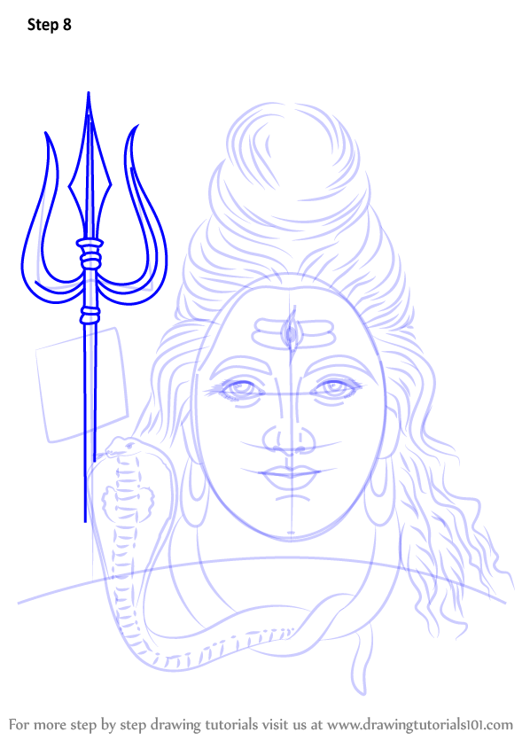 10 Best For Drawing Lord Shiva Easy Drawings Of God Shiva Cine
