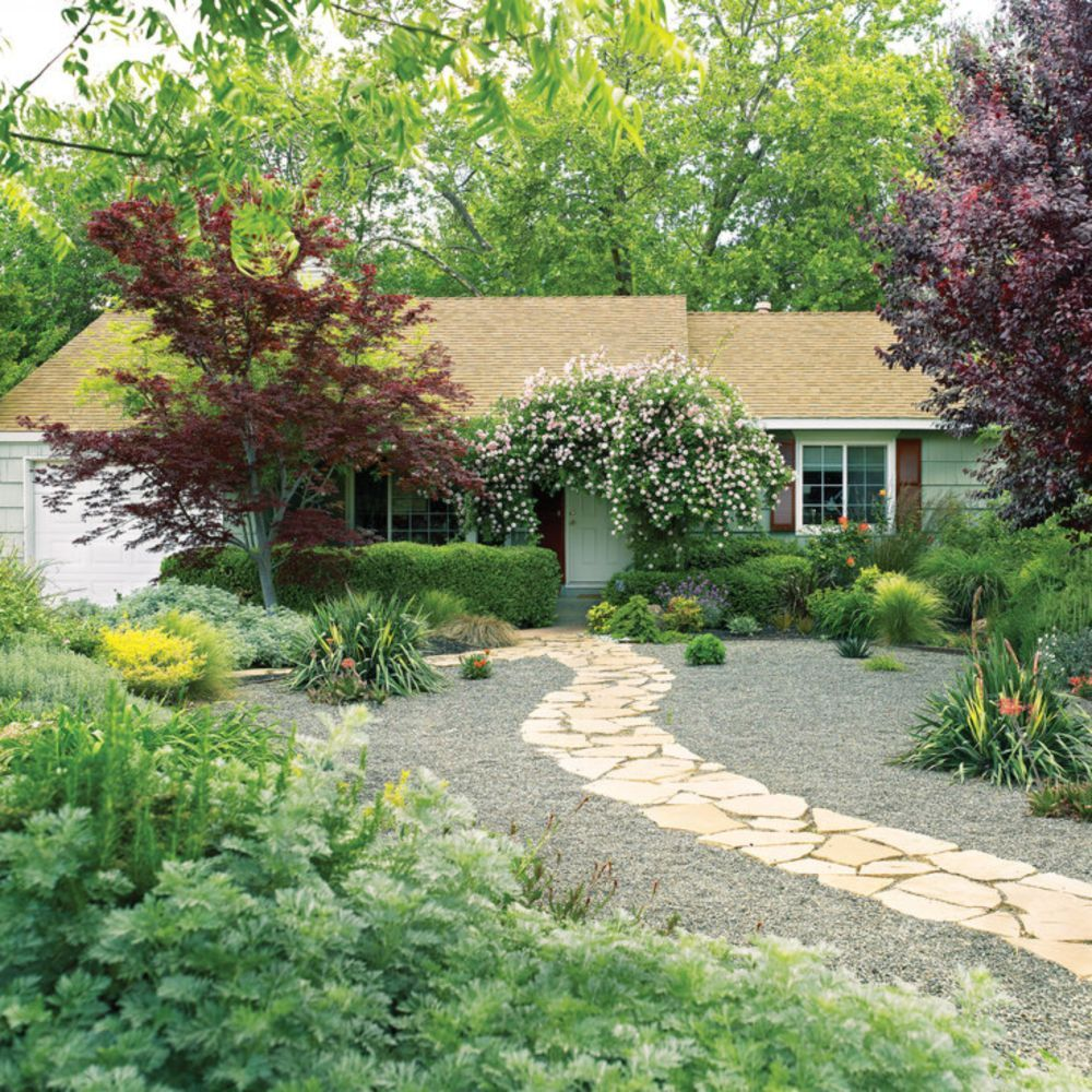 39 Beautiful Landscaping Design Ideas Without Grass | Landscaping ...