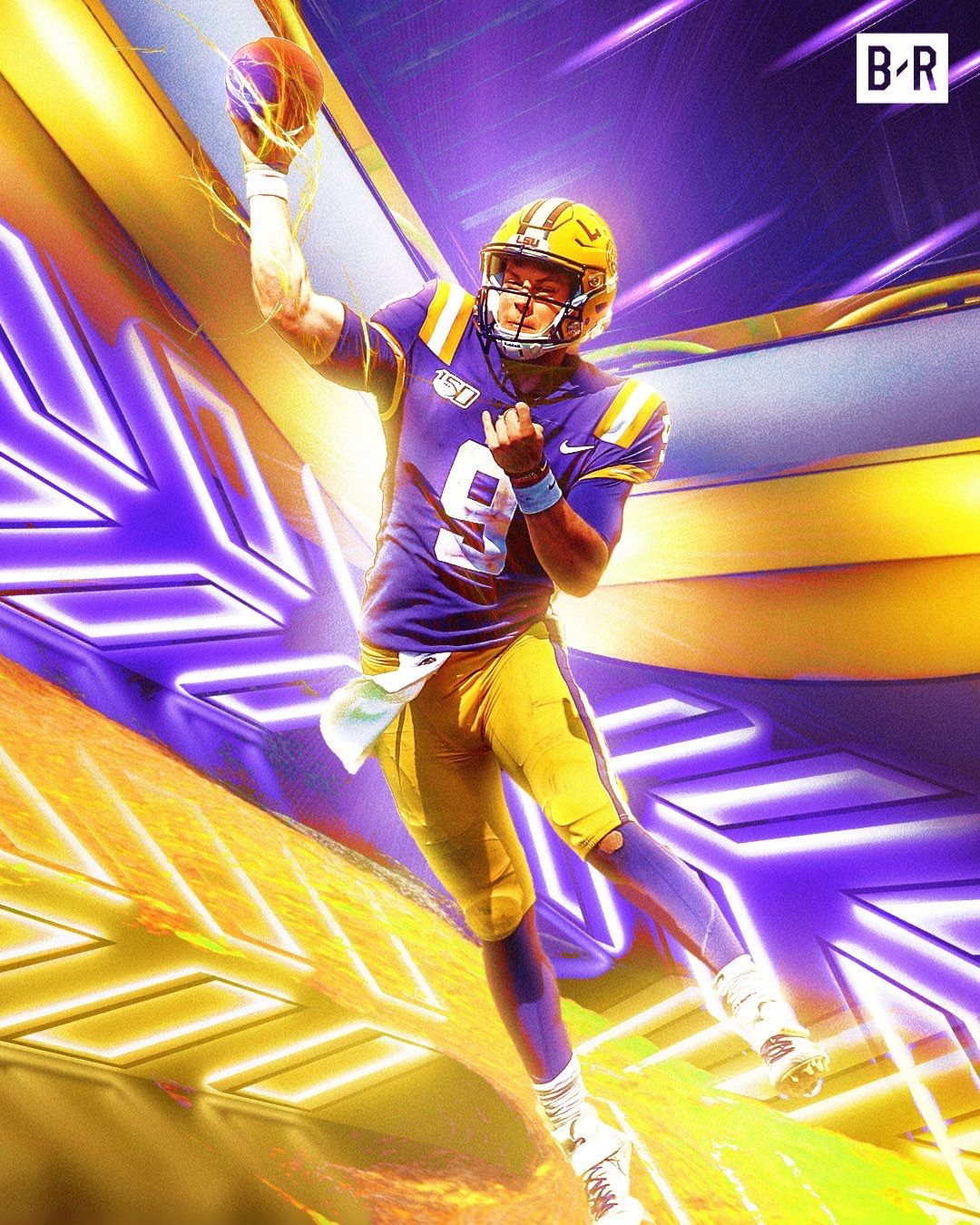 Joe Burrow Lsu Lsu Tigers Football Lsu Tigers Lsu