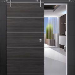 Modern interior doors modern stainless steel wood sliding door modern interior doors modern stainless steel wood sliding door fitting sets planetlyrics Gallery