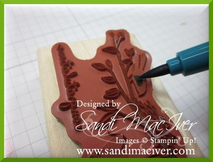 Stamping with Sandi - lots of tutorials. Using Stampin'Up stamps.
