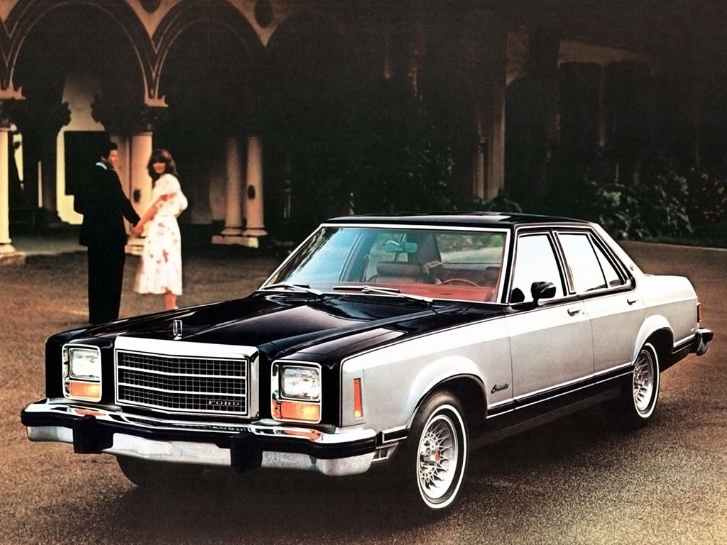 1981 Ford Granada Glx 4 Door Sedan 54d 1980 81 Ford Granada
