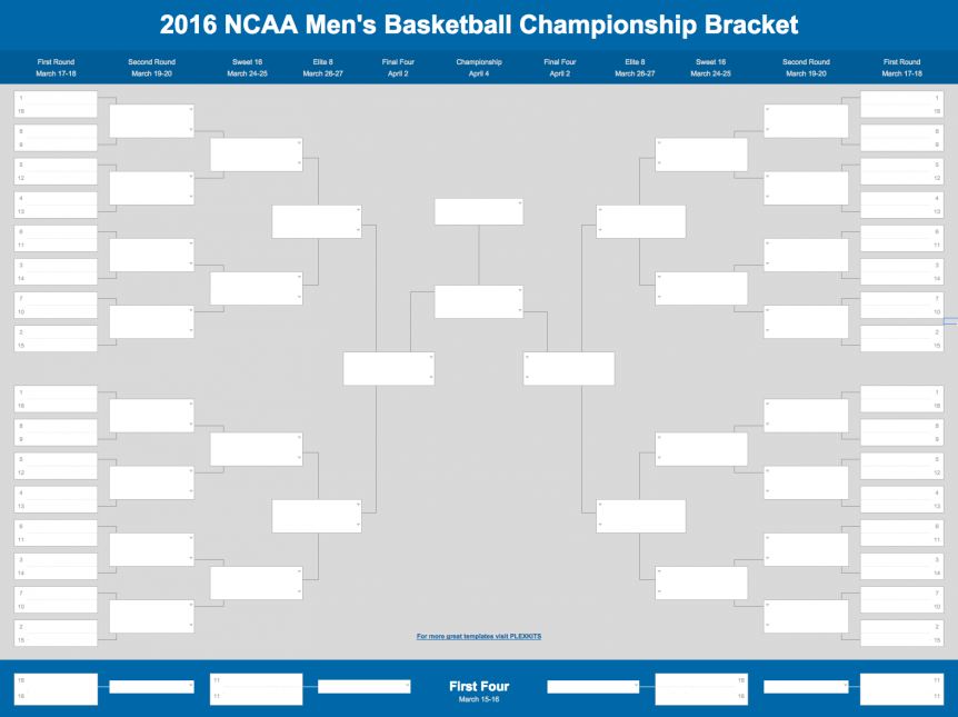 2021 March Madness Bracket Excel Google Sheets Template March Madness Bracket Excel Templates Bracket