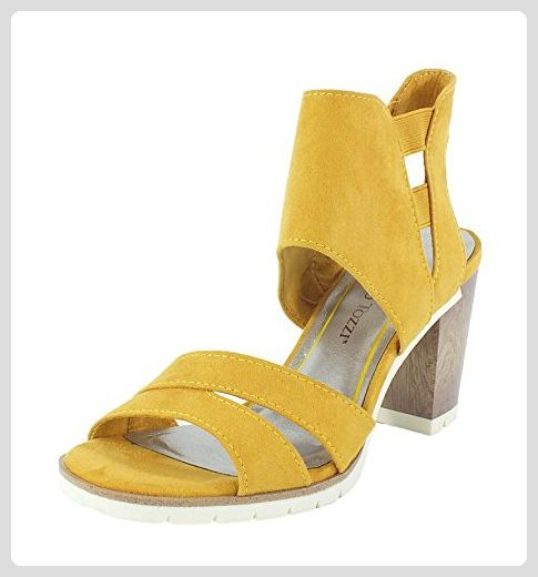 2b2c62cf560fff Marco Tozzi Sandalette saffron Gr. 40 - Mary jane halbschuhe ( Partner-Link