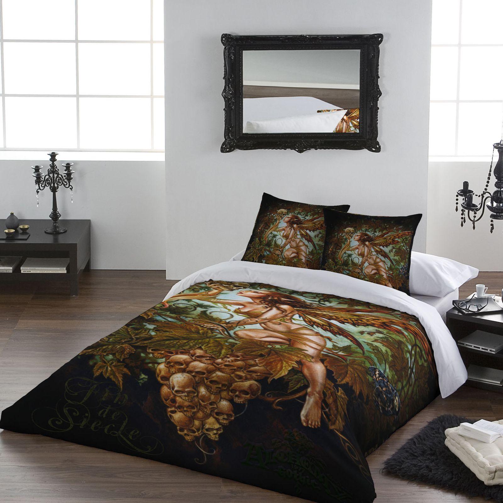 Wild Star Double Bed Duvet Set 'Fin de Seicle' Fantasy