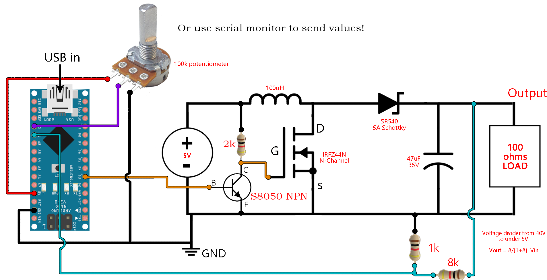 dc to dc boost converter circuit homemade [ 1906 x 978 Pixel ]