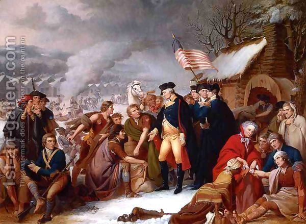 valley forge revolutionary war