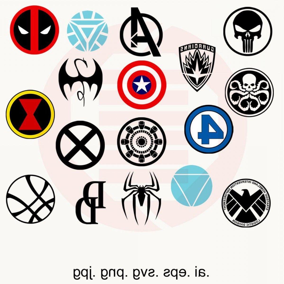 Avengers Logo Vector Art Superhero Svg Marvel Svg Logo