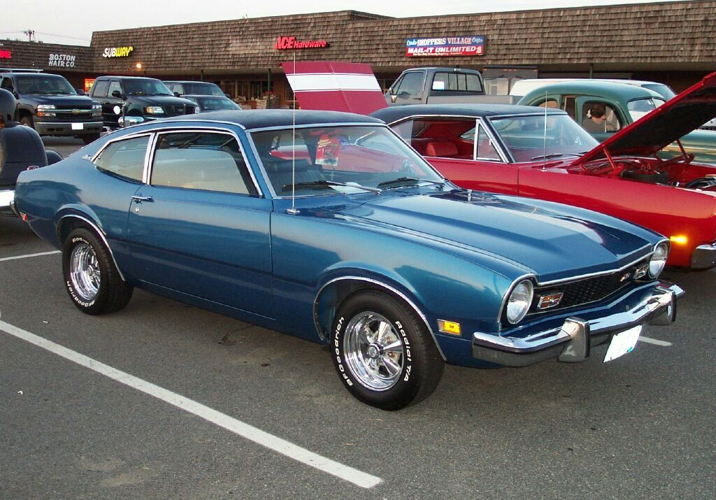 1973 Ford Maverick My First New Car Was A 73 Maverick That Was
