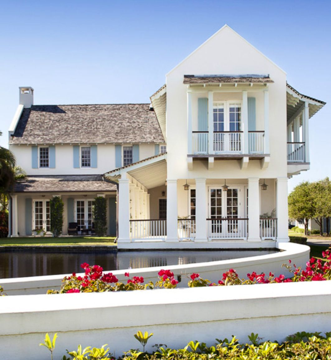 Pictures Of Beach Houses In Florida: Old St. Augustine Style Architecture Inspiration For New