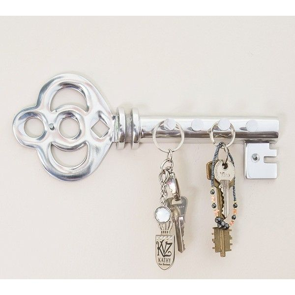 Decorative Wall Mounted Key Holder ($15) ❤ liked on Polyvore ...