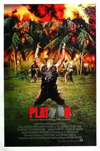 "Willem Dafoe. Classic Movie Poster Various Sizes /""Platoon/""...Tom Berenger."