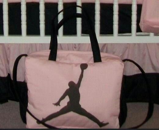 Michael Jordan Jumpman New Diaper Bag Custom Made To Order