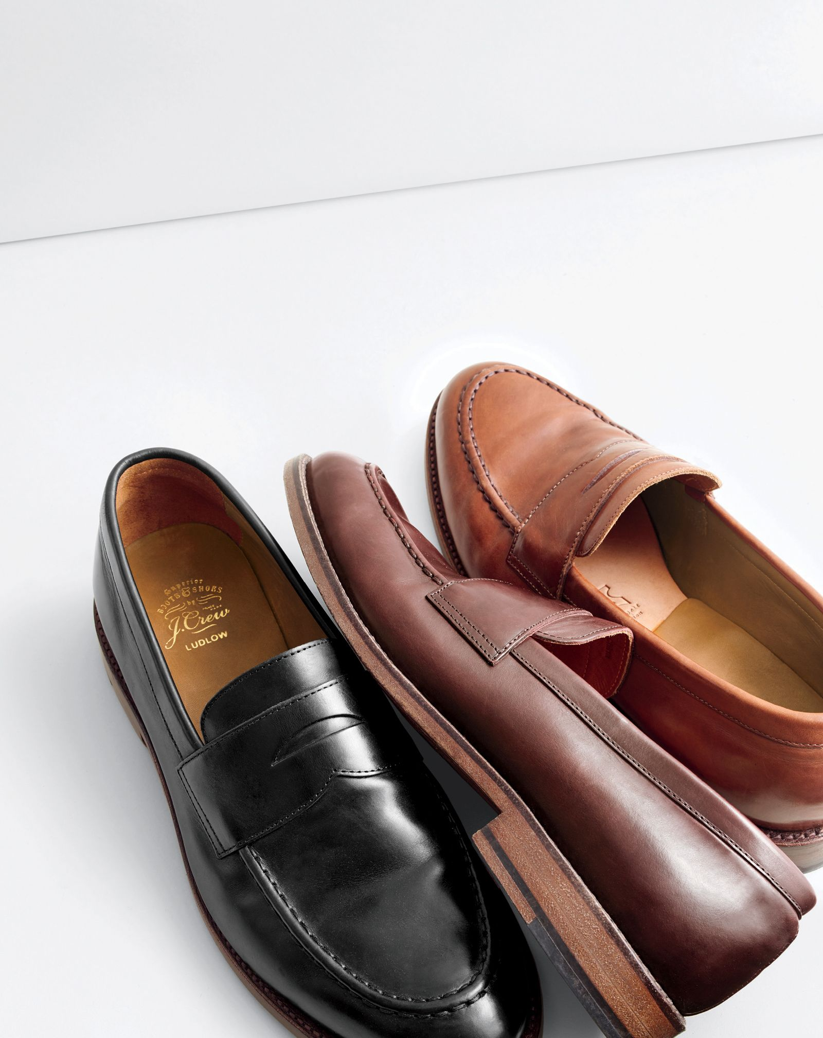 53753aa7ccc J.Crew men s Ludlow penny loafers.
