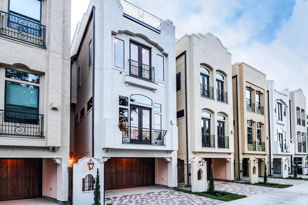 Luxury new townhomes in houston tx at the granada