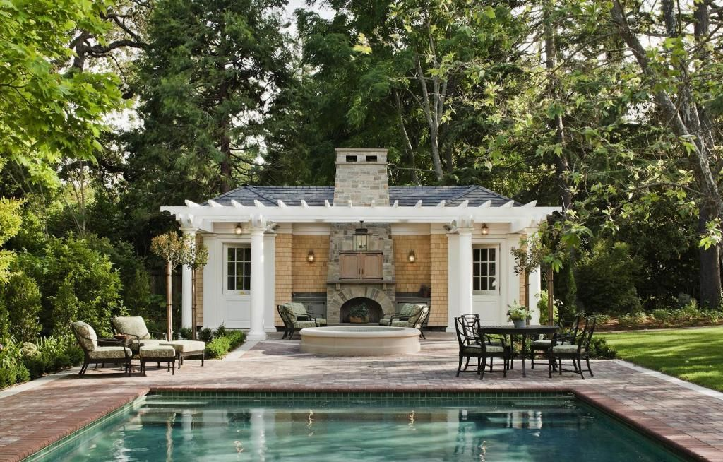 Pool House Bar Designs : Best Pool House Designs Ideas ...