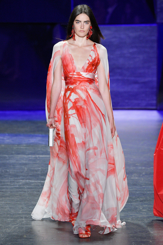 Naeem Khan Spring 2017 Ready-to-Wear Fashion Show | Vestidos fiestas ...