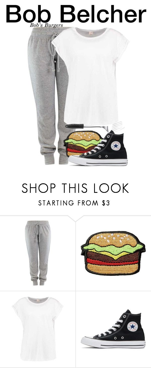 """Bob Belcher - Bob's Burgers"" by nerd-ville ❤ liked on Polyvore featuring Stoney Clover Lane, Converse, Bodum, men's fashion and menswear"