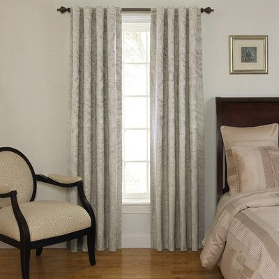 Sound Asleep Room Darkening Rod Pocket Window Curtain