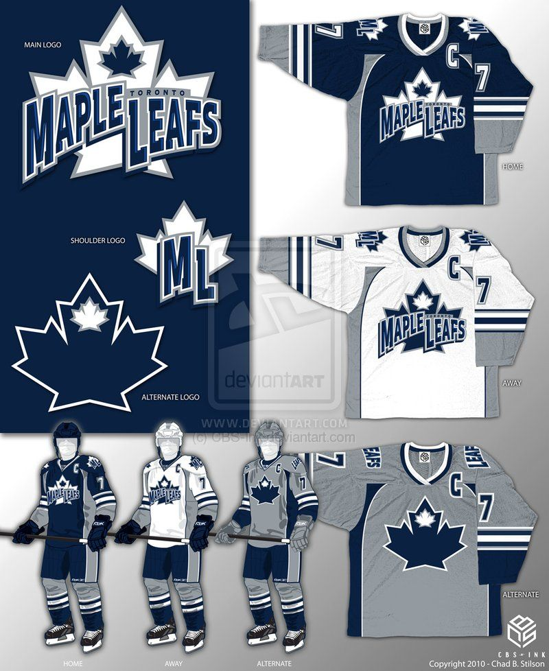 e80110a6b Toronto Maple Leafs Concept by CBS-Ink.deviantart.com on  deviantART ...