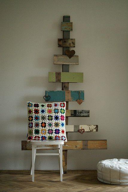 wood & wool pillow by wood & wool stool, via Flickr