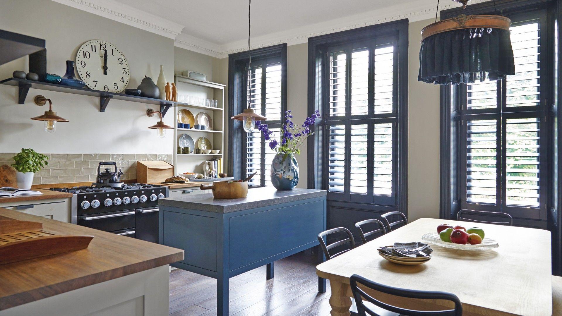 Ein einfaches küchendesign blue kitchen  kitchen ideas  pinterest