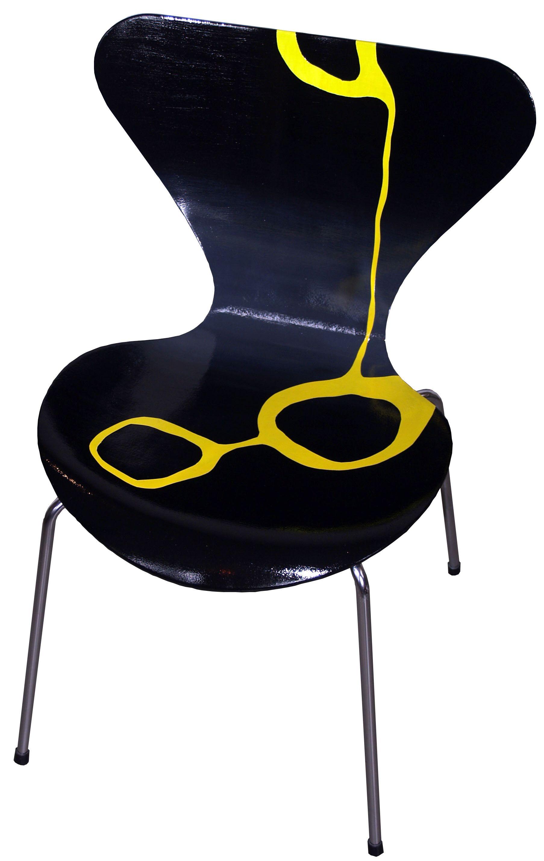 Maled Arne Jacobsen 7ér stol (med billeder) Vægure