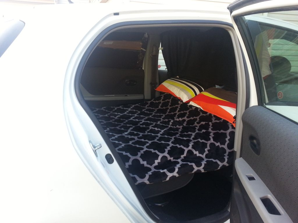 YARIS weekend camper conversion - Toyota Yaris Forums