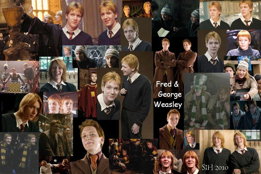 The Weasley Family Fan Art Fred And George Weasley Family Fred And George Weasley George Weasley