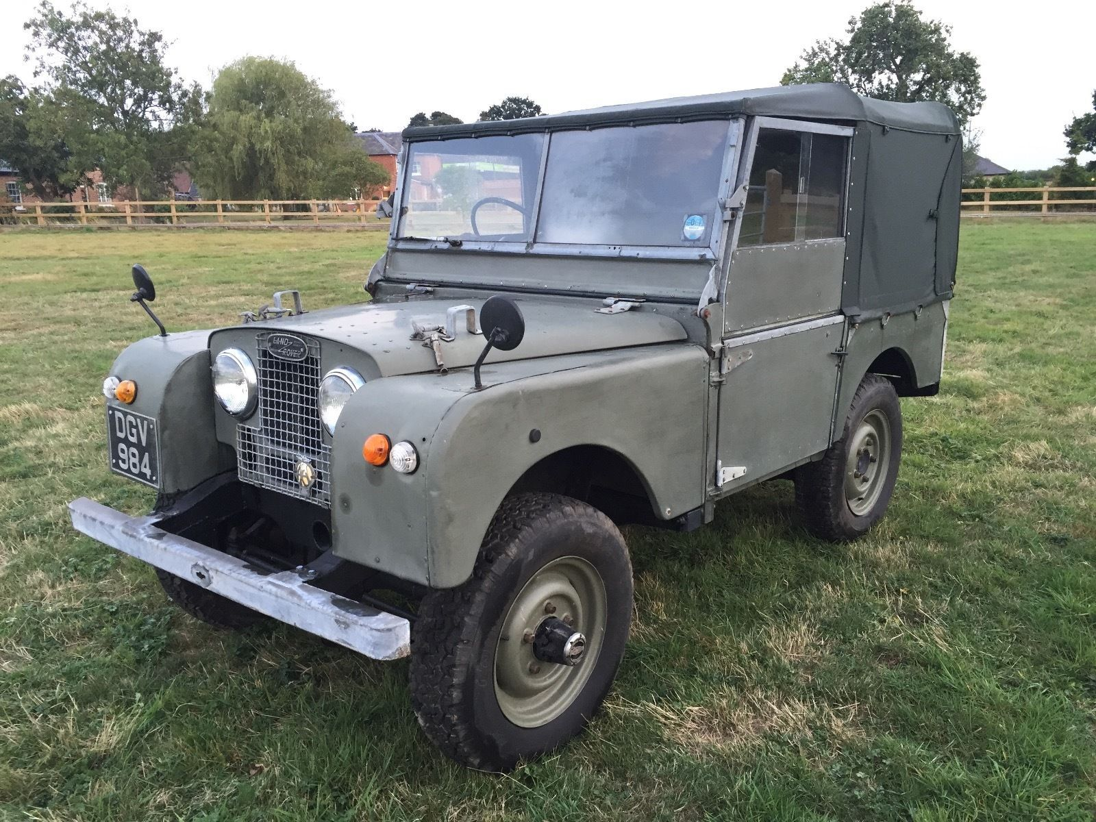1951 Land Rover Series 1 80inch | Cars land, Land rovers and Vehicle