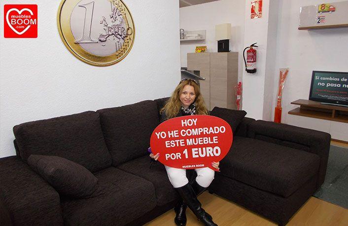 El viernes pasado elsa g h se compr por s lo 1 euro esta chaise longue en nuestra - Muebles boom 1 euro ...