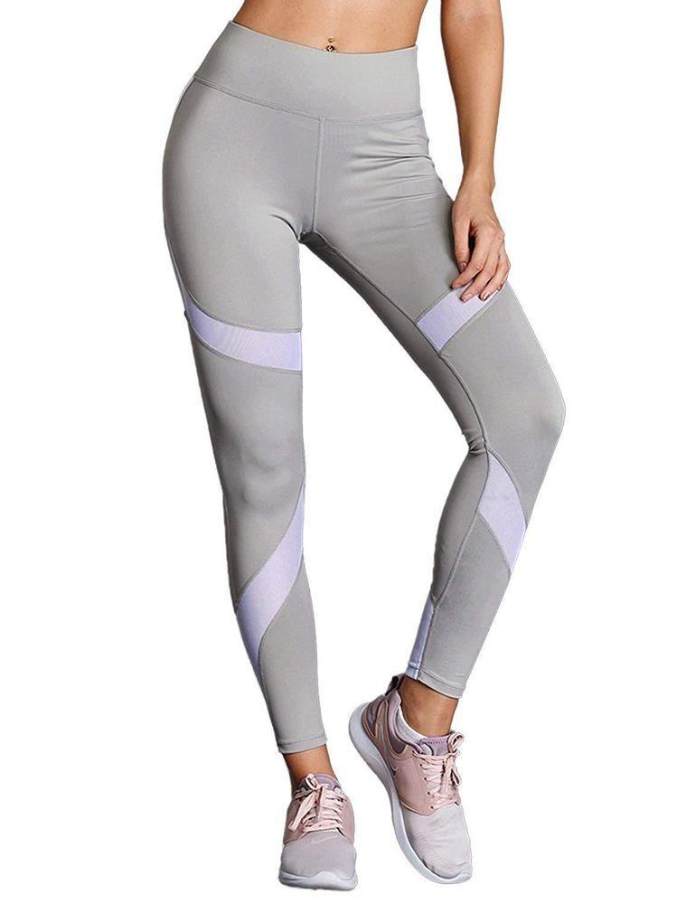 544928585f13e Lookbook Store Women High Waist Sports Yoga Pants Mesh Fitness Leggings  Capris #fashion #clothing