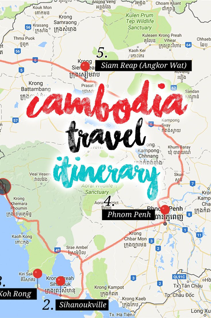 The Ultimate Itinerary Exploring Cambodia From 3 Days Up Until 10 Days Check Out My Complete Guidlines Of The Journey Around Cambodia