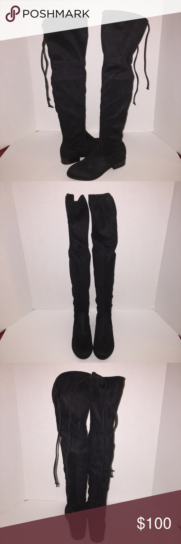 52eda23a6e3 Steve Madden Orlene Over The Knee Boots 6.5 New no box , no trades ...