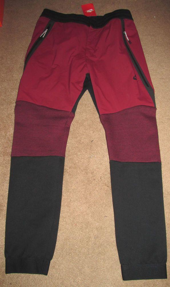b0176997 Nike Tech Fleece 2 Sweatpants Mens S Team Red Black 700769 657 #Nike #Pants