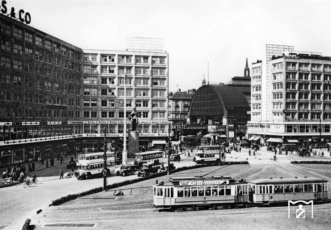 1931 Berlin Alexanderplatz Berlin Geschichte Bilder Historische Fotos