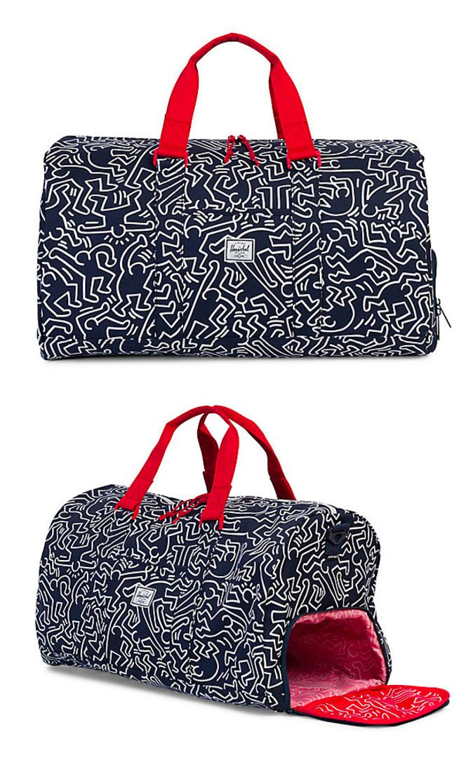 Keith Haring, Herschel Supply Co, Wallets, Surfing, Backpacks, Rings,  Necklaces 72b25394ba