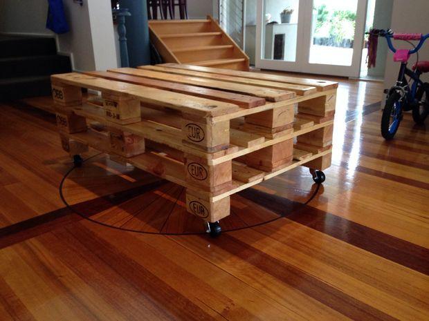 Tutoriel Pour Réaliser Une Table Basse En Palette De Style