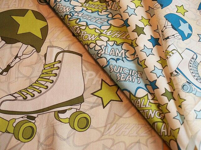 Totally want some of this fabric!
