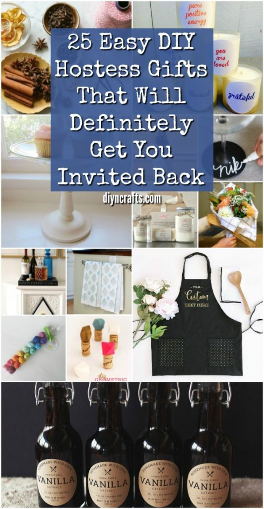 25 Easy DIY Hostess Gifts That Will Definitely Get You Invited Back #diy #gifts #hostessgifts #handmade #homegifts