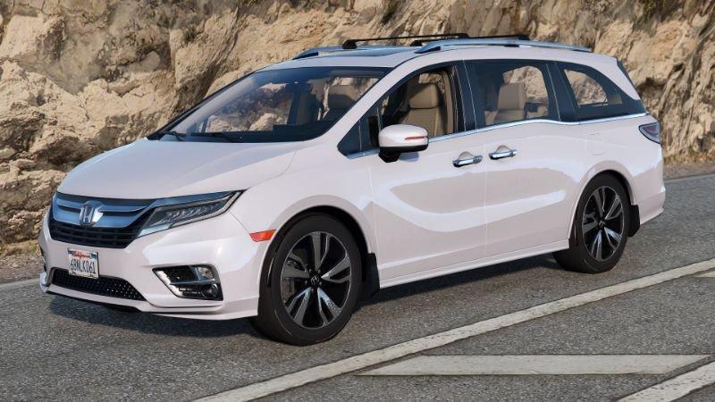 2019 Honda Odyssey Elite Replace Add On Gta5 Mods Com Honda Odyssey Honda Odyssey Touring New Honda Odyssey