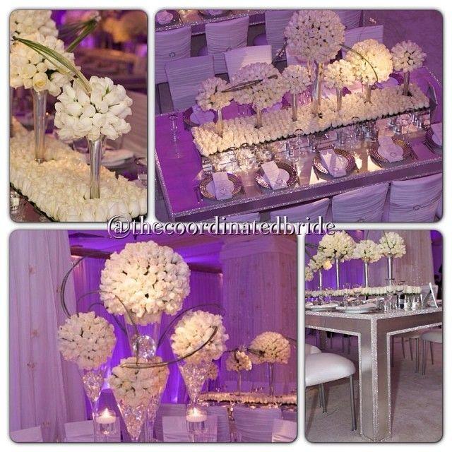 bling table - wedding decor by David Tutera | Wedding Decor ...