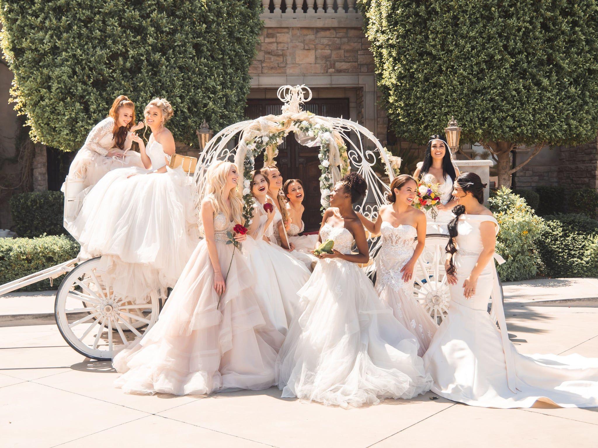 Bippity Boppity Boo This Disney Princess Wedding Is A Dream Come True Princess Wedding Theme Disney Wedding Theme Princess Bride Wedding [ 1536 x 2048 Pixel ]