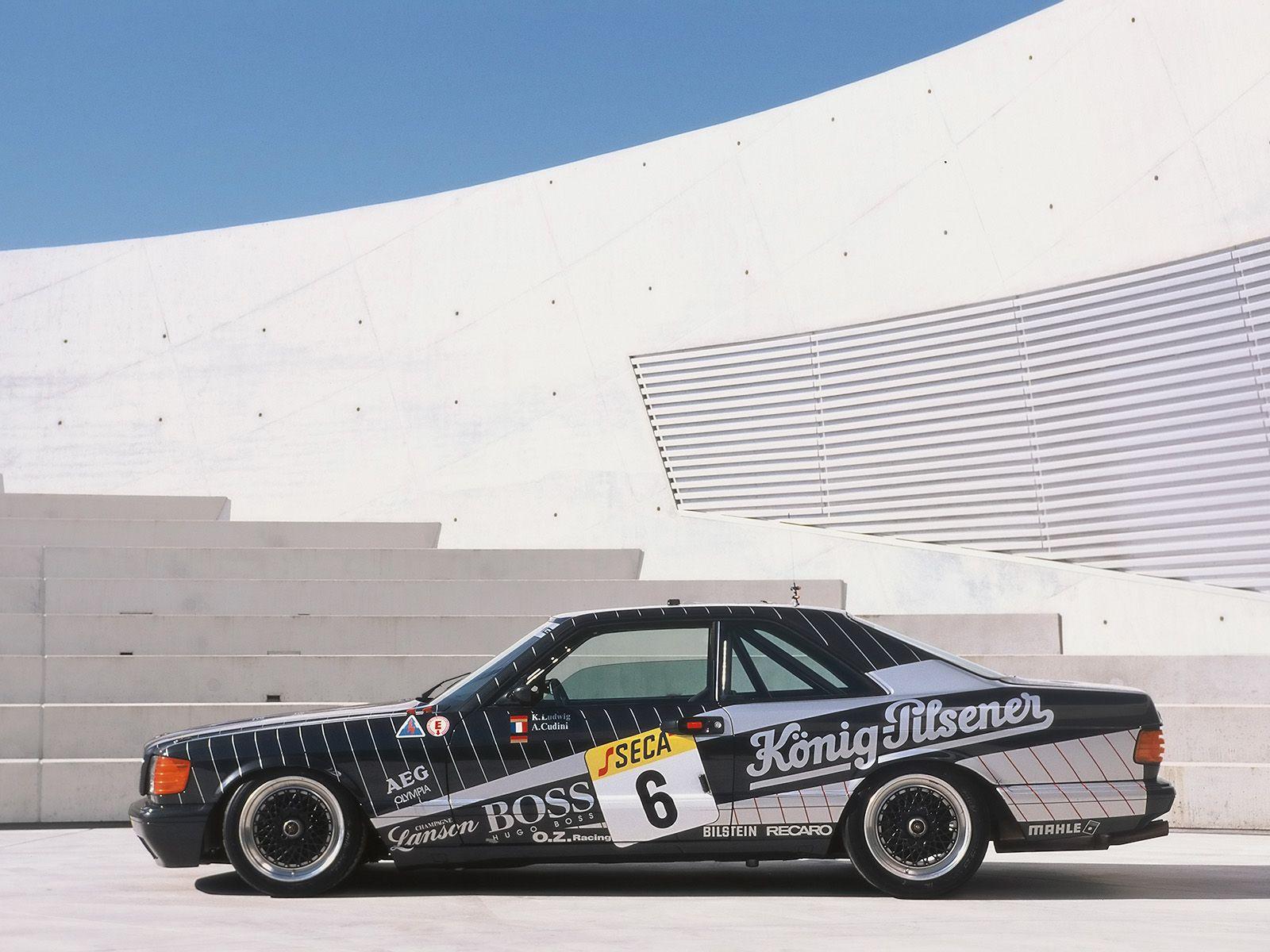 How many amg 6 0 4v w126 sec and sel cars were built amg side shot - Mercedes Sec Amg