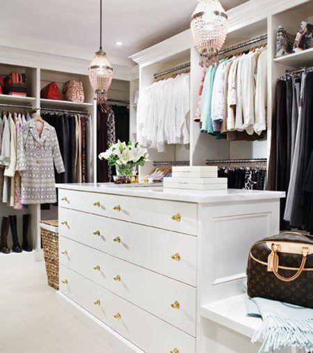 Walk In Closet Storage Bench - Design photos ideas and inspiration. Amazing gallery of interior design and decorating ideas of Walk In Closet Storage Bench ... & Vestidor #vestidor #luxury #walkincloset www ...