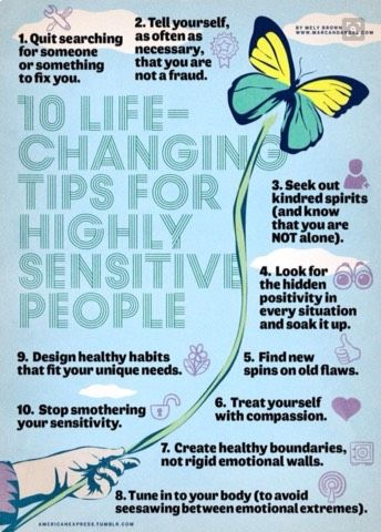 10 Life Changing Tips For Highly Sensitive People