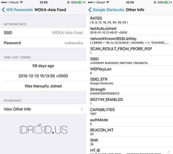 Cydia Tweak Wifi Passwords List V1 0 0 1 Idevice And Android News Wifi Password Wifi Passwords