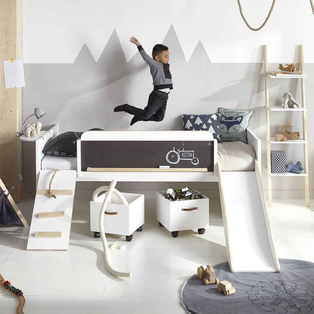 Play, Learn And Sleep Kids Bed
